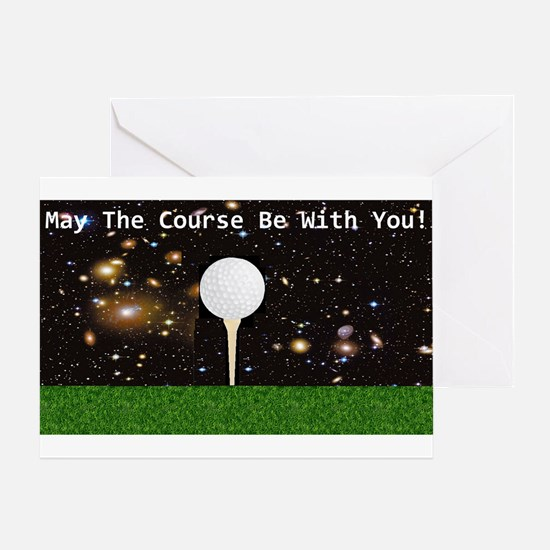 Golf Galaxy Greeting Card