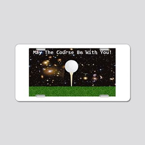 Golf Galaxy Aluminum License Plate