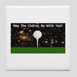 Golf Galaxy Tile Coaster