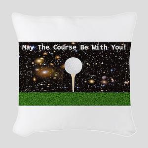 Golf Galaxy Woven Throw Pillow