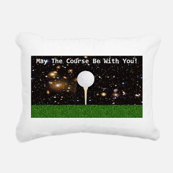 Golf Galaxy Rectangular Canvas Pillow