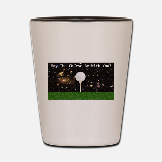 Golf Galaxy Shot Glass