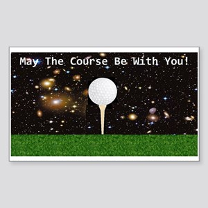 Golf Galaxy Sticker (Rectangle)