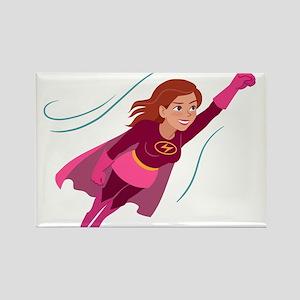 Superhero woman Magnets