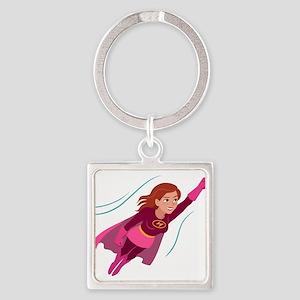 Superhero woman Keychains