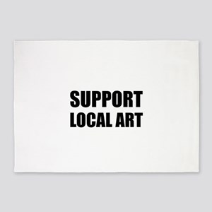 Support Local Art 5'x7'Area Rug