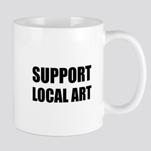 Support Local Art Mugs