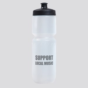 Support Local Music Sports Bottle
