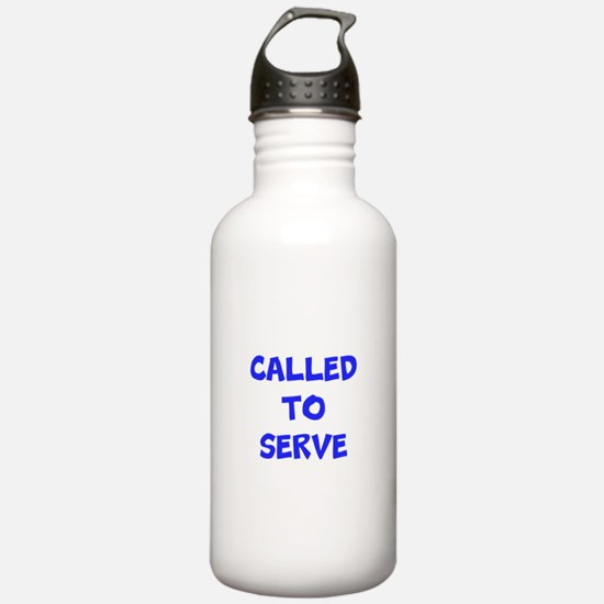 Call to serve Water Bottle