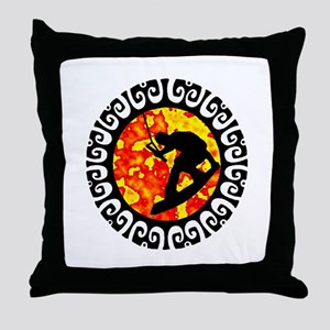 WAKEBOARD Throw Pillow