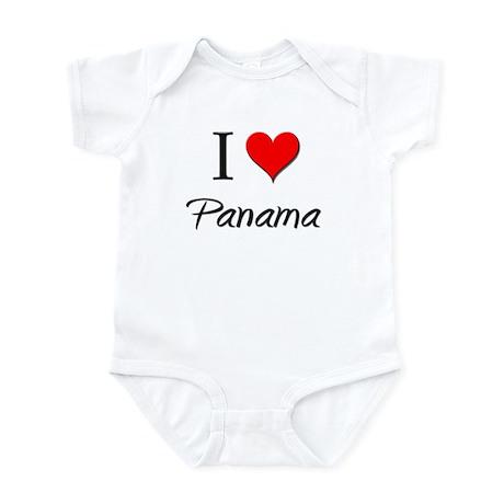 I Love Palau Infant Bodysuit