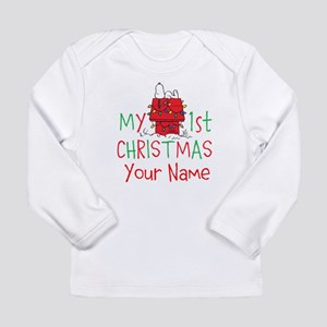 Peanuts First Christmas Long Sleeve T-Shirt