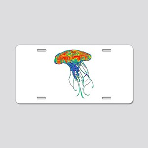 TENTACLES Aluminum License Plate