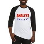 Retired Analyst Baseball Jersey