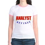 Retired Analyst Jr. Ringer T-Shirt