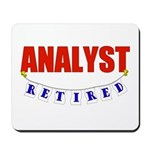 Retired Analyst Mousepad