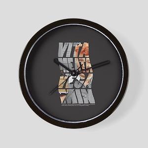 Vitameatavegamin Wall Clock