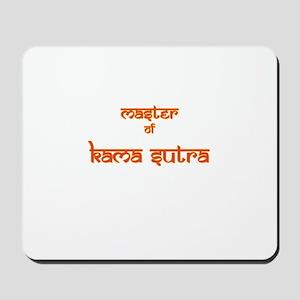 Master Of Kama Sutra Mousepad