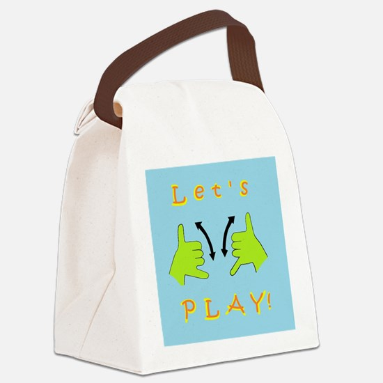 Unique Recess Canvas Lunch Bag