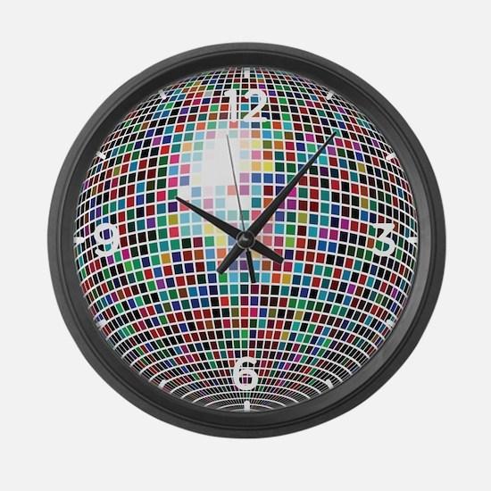 Disco Ball Large Wall Clock