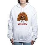 Turkey Day Survivor (Thanksgiving) Women's Hooded