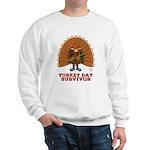 Turkey Day Survivor (Thanksgiving) Sweatshirt
