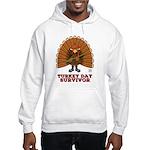 Turkey Day Survivor Hooded Sweatshirt