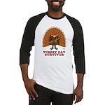 Turkey Day Survivor (Thanksgiving) Baseball Jersey