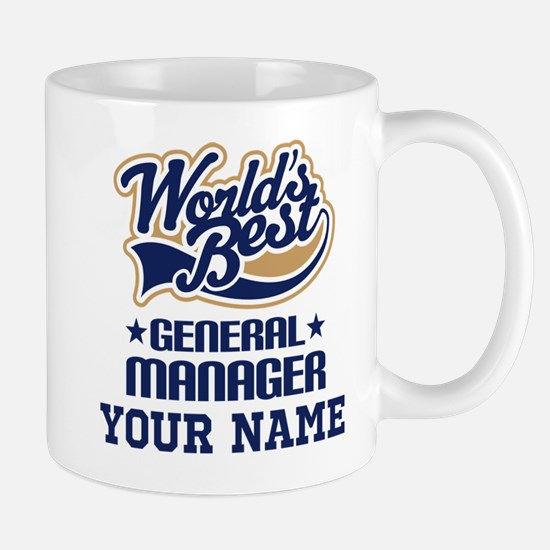 General Manager Personalized Gift Mugs