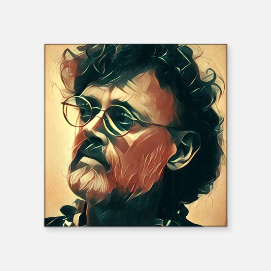 "Cute Terence mckenna Square Sticker 3"" x 3"""