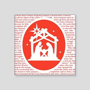 Christmas story Nativity Sticker
