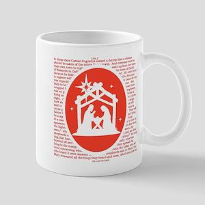 Christmas story Nativity Mugs