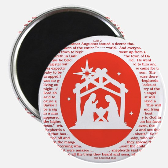Christmas story Nativity Magnets
