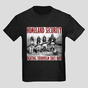 Homeland Security Ash Grey T-Shirt