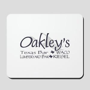 Oakley's Lumberyard Mousepad