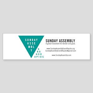 SAGR Logo Business Card 02 Bumper Sticker