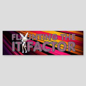 It Factor Girl Sticker (Bumper)