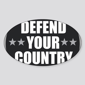Defend Your Country Sticker