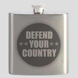 Defend Your Country Flask