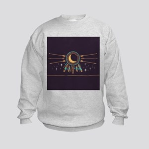 Dreamcatcher Moon Kids Sweatshirt
