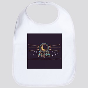 Dreamcatcher Moon Bib