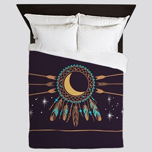 Dreamcatcher Moon Queen Duvet