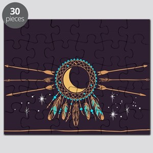 Dreamcatcher Moon Puzzle