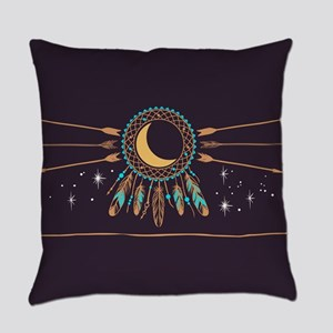 Dreamcatcher Moon Everyday Pillow