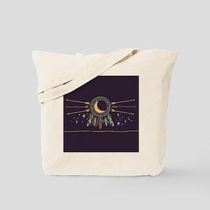 Dreamcatcher Moon Tote Bag