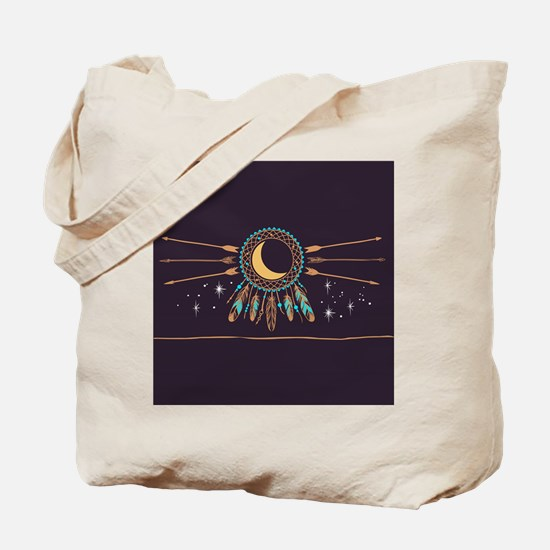 Dreamcatcher Moon Tote Bag