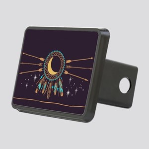 Dreamcatcher Moon Rectangular Hitch Cover