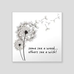 Dandelion Seed Wish Sticker