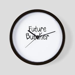 Future Butcher Wall Clock