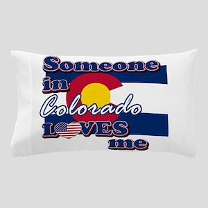 Colorado flag designs Pillow Case